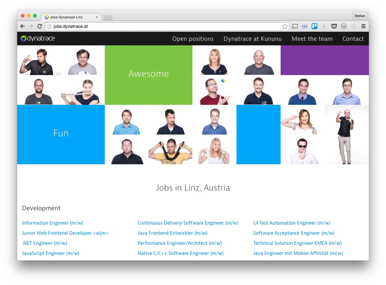 jobs.dynatrace.at