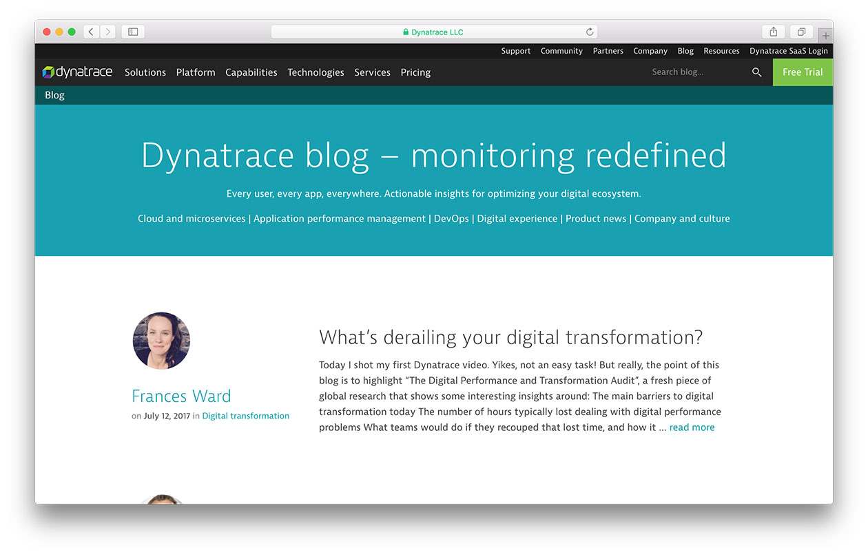 dynatrace.com/blog